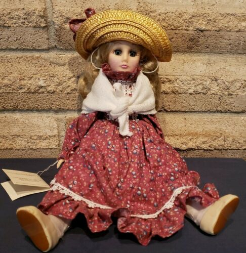 """Vintage 1989 Effanbee French Country Mother doll (13"""") FB6900"""