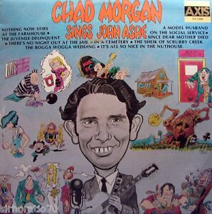 CHAD-MORGAN-Sings-John-Ashe-OZ-LP-1975-Country