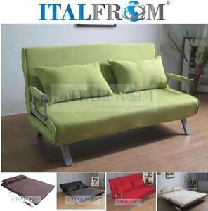 Divano letto divanoletto sofa bed microfibra divani prontoletto italfrom design ebay - Divano letto ebay ...