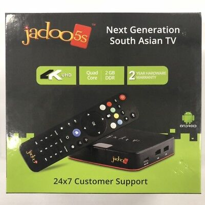 Latest Model Jadoo Tv 5S Brand New  4K Ultra Hd  Bluetooth  Video Calling