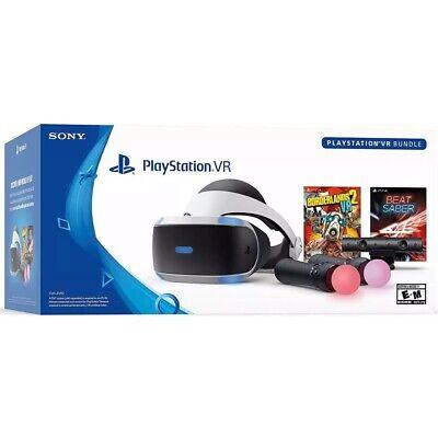 PlayStation VR, Borderlands 2 and Beat Saber Console Bundle for PS4