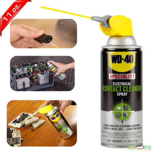 WD 40 Specialist Electrical Contact Cleaner Circuit Electronic Board W Spray Can