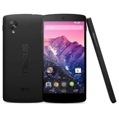 New LG Google Nexus 5 D820 16GB GSM Unlocked AT&T T-Mobile Staight Talk - Black