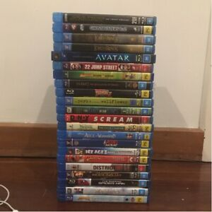 BLURAYS FOR SALE! MOVIE TITLES IN DESCRIPTION