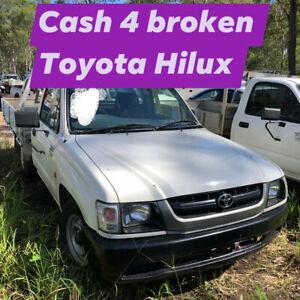 CASH 4 CARS   broken HILUX, SEDAN, UTES, VANS AND MORE