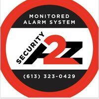 Home or business alarm installation and monitoring