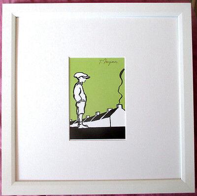 TOMI UNGERER Illustration HANDSIGNIERT, O´Connorr, orig.SIGNED + Rahmen