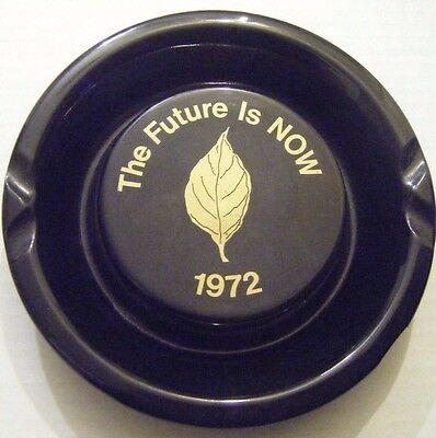 ANTIQUE 1972 RJ REYNOLDS ASHTRAY FUTURE NOW RJR ceramic winston marlboro VINTAGE