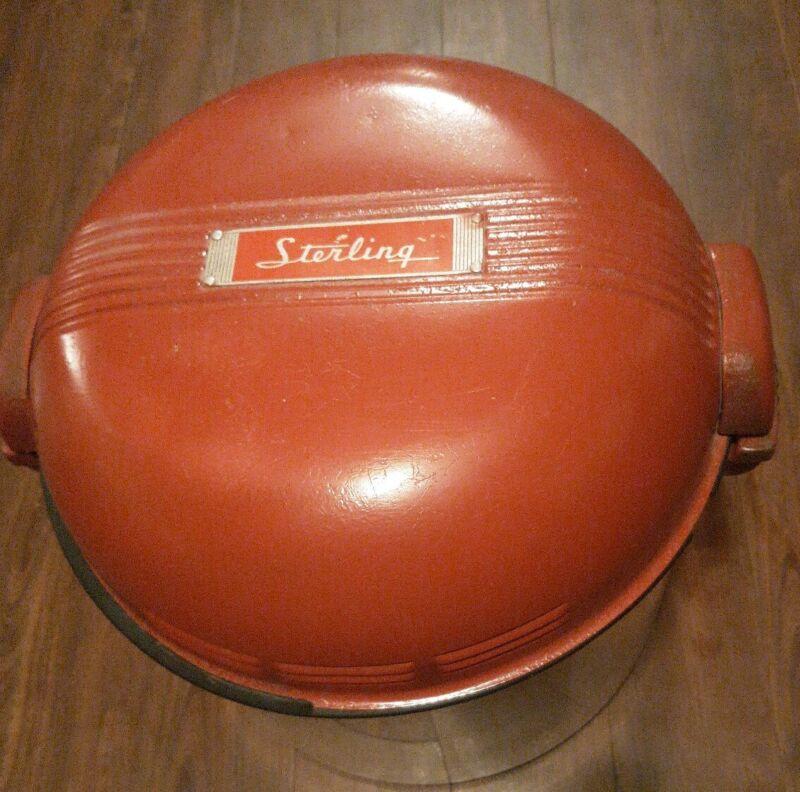Vintage Sterling Portable Washing Machine Camper Washer