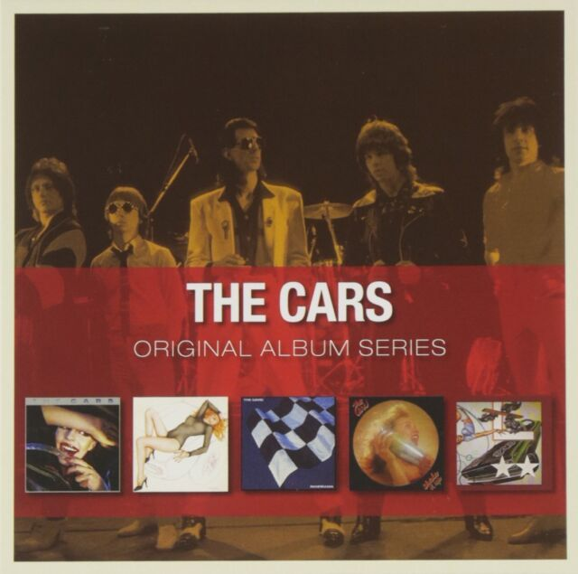 THE CARS ORIGINAL ALBUM SERIES 5CD ALBUM SET (2011)