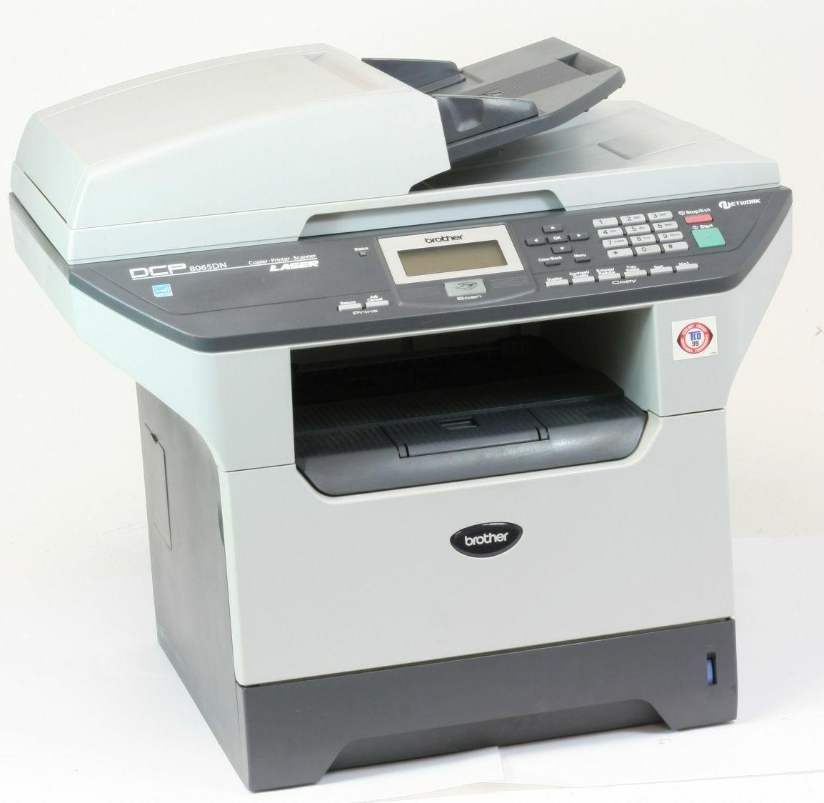 Brother dcp-8065dn imprimante laser imprimante scanner photocopieuse utilisé