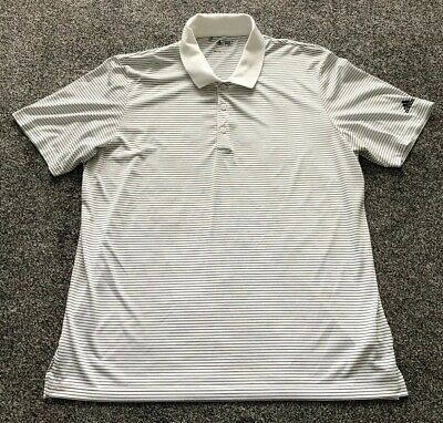 Adidas Climacool Golf Polo Shirt Top - Adults Men's Size XL Extra Large