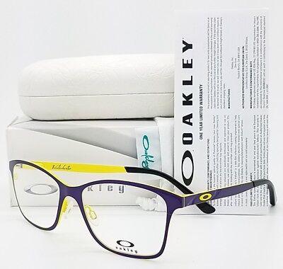 NEW Oakley Validate RX Prescription Frame Purple Yellow OX5097-0153 53mm (Oakley Prescription Sunglasses Women)