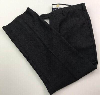 "Incotex 34 x 27"" 100% Wool Mens Dress Pants Italy Made Super 100's"