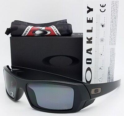 NEW Oakley Si Gascan sunglasses  Matte Black Grey Polarized 11-122 gas (Petrol Rectangular Sunglasses)