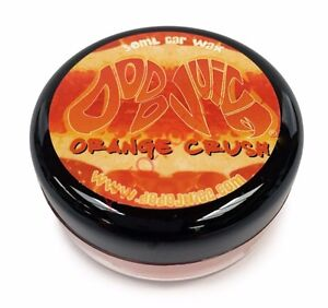Dodo Juice Soft Car Wax - Carnauba Orange Crush 30ml, High Gloss & Insane Shine
