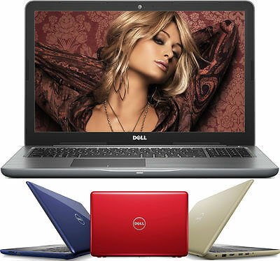 "DELL 17.3"" Gaming Laptop AMD FX-9800P 3.60GHz 8GB 1TB HD DVD+RW Radeon R7 WIN10"