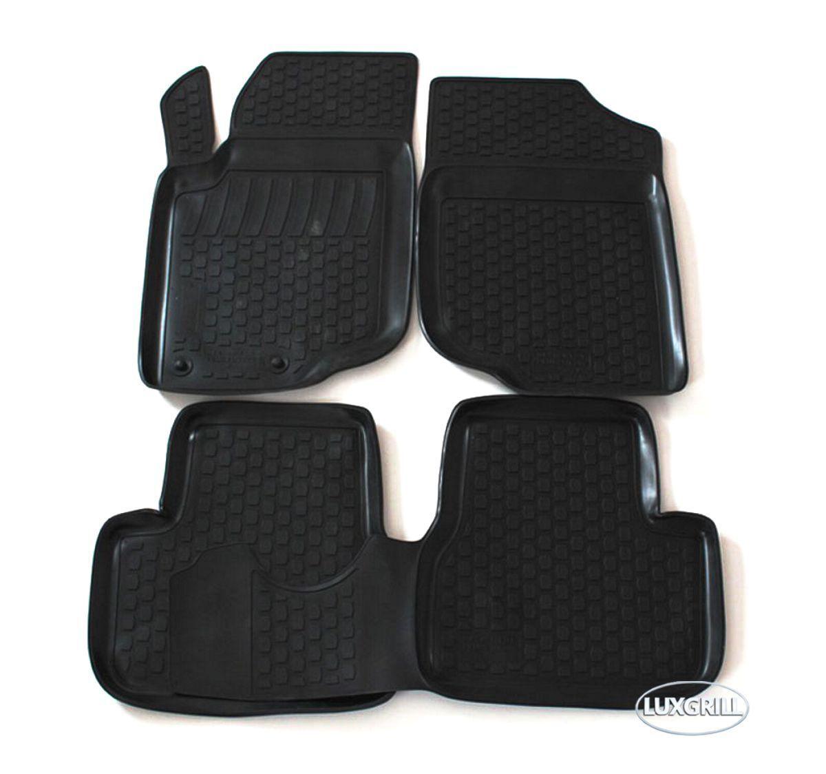 3D Gummi-Fußmatten für PEUGEOT 307 2001-2007 4-tlg Gummimatten