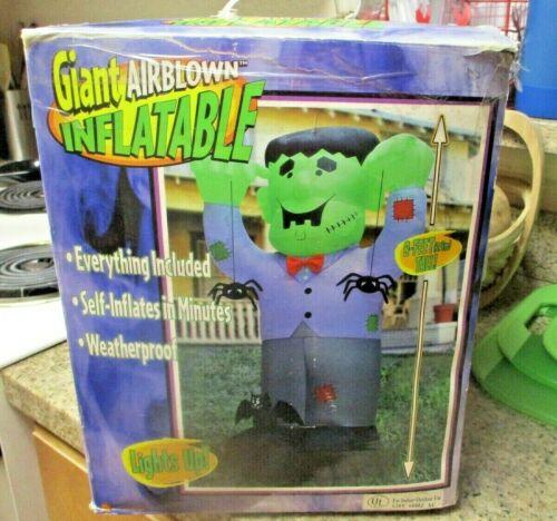 Gemmy Halloween Giant Airblown Inflatable 8FT tall Frankenstein