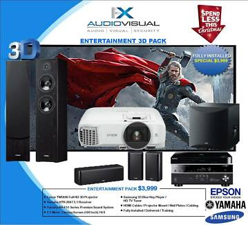 ENTERTAINMENT HOME THEATRE PACKAGE - $3999 XMAS special
