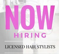 Hiring. Hair stylists