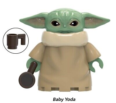 BABY YODA BIGGER SIZE STAR WARS MINIFIGURE FIGURE USA SELLER NEW IN PACKAGE