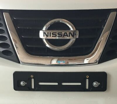 FRONT LICENSE PLATE HOLDER MOUNTING BUMPER KIT BRACKET for NISSAN & INFINITI NEW ()