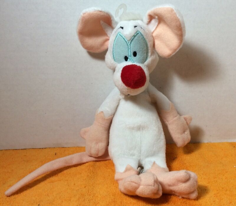 Warner Brothers Animaniacs Pinky Plush Bean Bag Toy