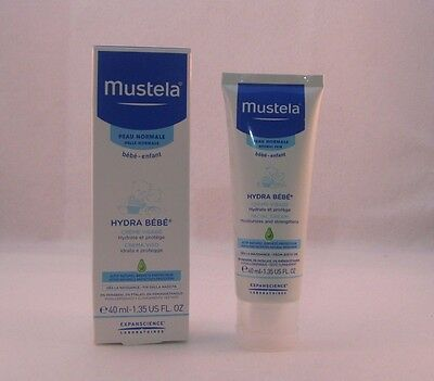 MUSTELA HYDRABEBE   crema viso idratante bambini 40 ml