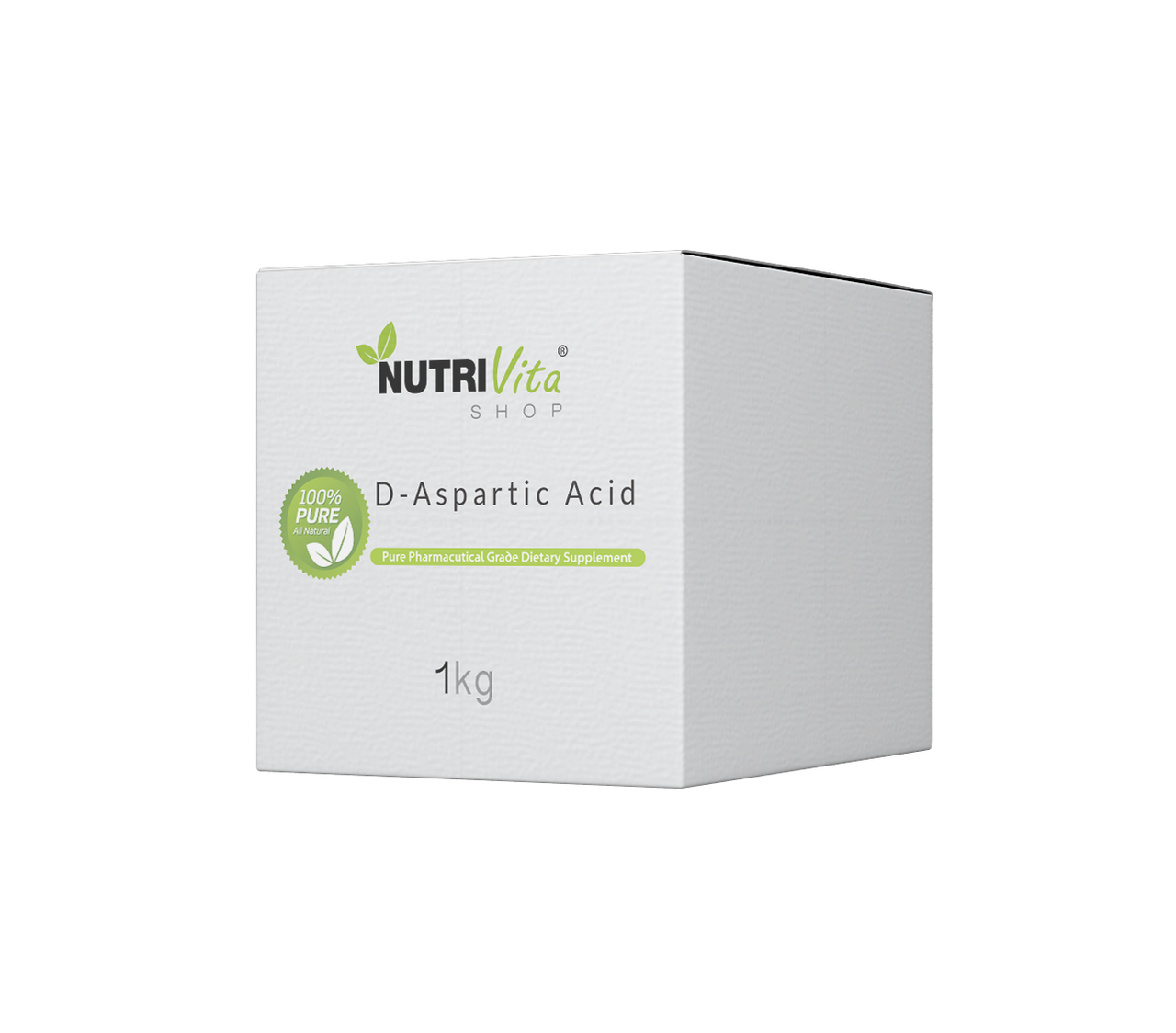 1000g (2.2lbs) 100% Pure D-Aspartic Acid (DAA) (Unflavored) USA nonGMO Free Ship