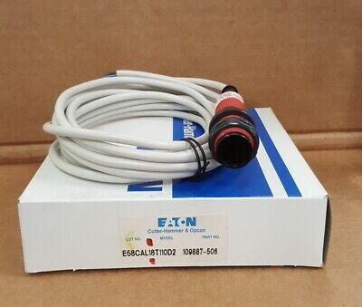Eaton Cutler Hammer E58cal18t110d2 18 Mm Tubular Photoelectric Sensor New In Box