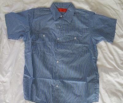Mens shirt Work uniform small medium large XL 3x blue black white tan NEW Tan Uniform Shirt
