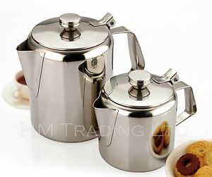 70-OZ-2-1-LitresTeapot-Stainless-Steel-Tea-Coffee-Pot