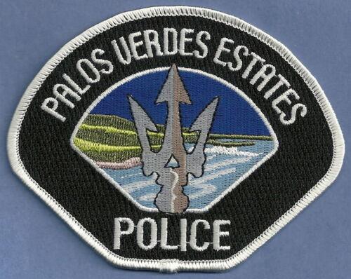 PALOS VERDES ESTATES CALIFORNIA POLICE SHOULDER PATCH