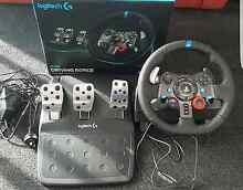 Logitech g29 PLUS SHIFTER ps4/ps3 PC Punchbowl Canterbury Area Preview