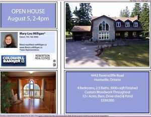 OPEN HOUSE TODAY!   AUGUST 5, 2-4PM