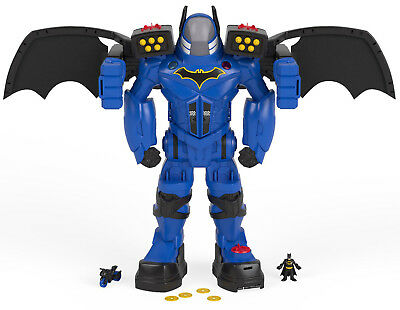 Fisher-Price Imaginext Dc Super Friends Batbot Xtreme Figure