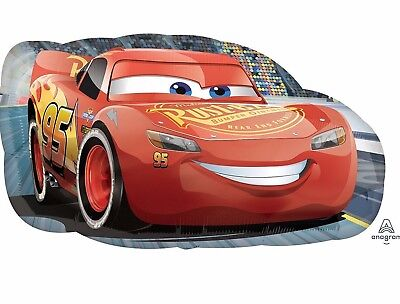 Disney CARS LIGHTNING MCQUEEN Foil Balloon Birthday Party Decoration Supply 30