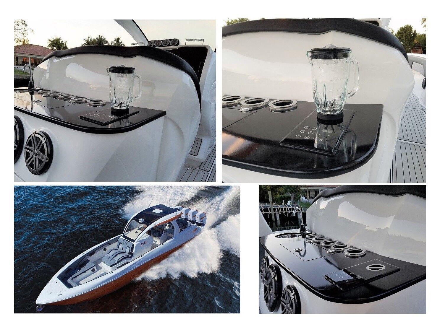 1000W BUILT-IN Blender + for RV-Boat & home. 110V NuTone Food Center 250,251