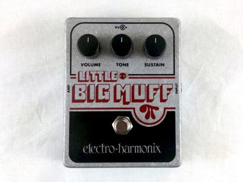 Used Electro-Harmonix EHX Little Big Muff Pi Fuzz Guitar Effects Pedal