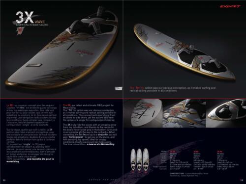 Exocet 2011 3X Wave 96L Windsurf Board / Windsurfer / Sailboard