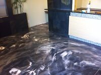 Concrete epoxy floor coatings by Seal Tech Concrete