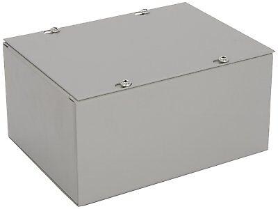 New Gray Bud Nema 1 Sheet Metal Junction Box Electrical Enclosure Project 6x8x4