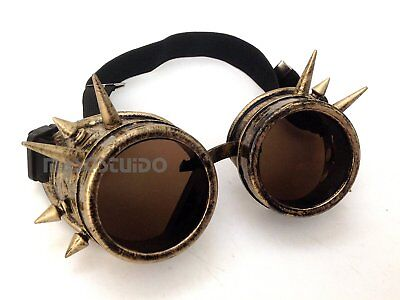 Spiked Goggles Glasses mask Halloween party Costume Dress up (Halloween-party Waren)