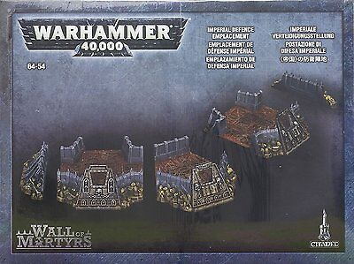 Wall of Martyrs Imperial Defence Emplacement Warhammer 40K
