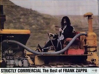 Frank Zappa 18x24 Strictly Commercial Promo Poster 1995