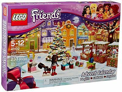 LEGO FRIENDS 41102 Countdown To Christmas Advent Calendar Brand New Retired