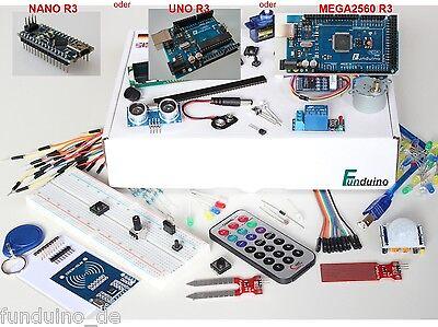 Kit für Arduino - mit UNO, MEGA oder NANO Mikrocontroller - Deutsche