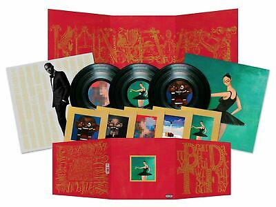 Kanye West - My Beautiful Dark Twisted Fantasy (New Vinyl 3LP) Poster Limited Ed
