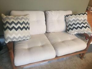 The Real Retro Love Seat and Sofa - NEW PRICE $1000